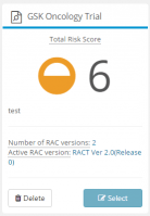 Study Risk Overview