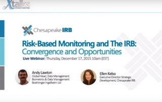 RBM and IRB webinar